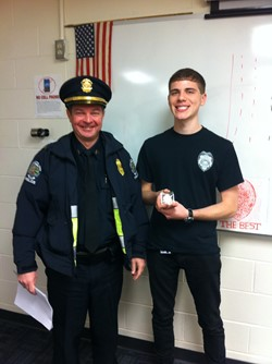 Criminal Justice Junior First Student To Receive Lancaster Challenge Coin