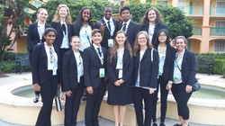 Biomedical Debate Team Advances to Top 25 at HOSA